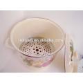 custom enamel steamer pot for household of flower