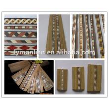 Holzrahmen mit Farbleiste