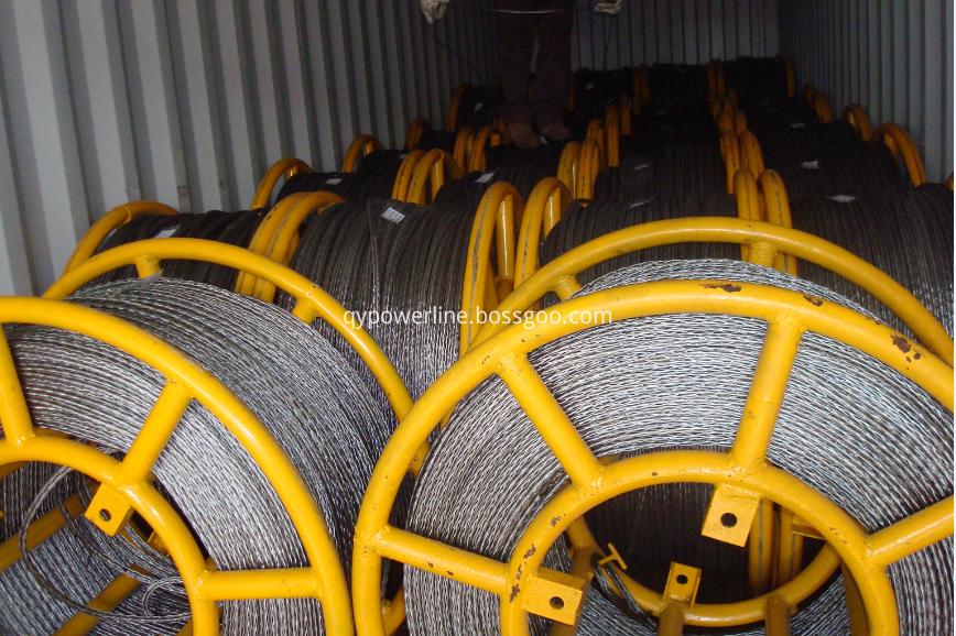 Anti Twisting Braided Steel Wire Rope