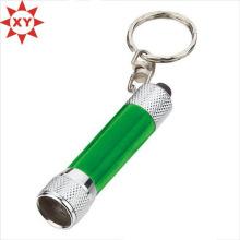 Mini lanterne télescopique télescopique lampe torche LED porte-clés