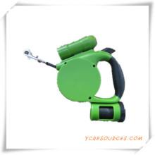 Hundeleine mit Taschenlampe und Auffangbeutel für Werbegeschenk (TY05020)