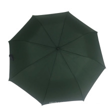 metal stand low price pongee fabric huge two foldable golf umbrella