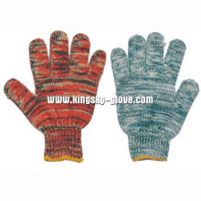 7g String Knit Multi Color Cotton Work Glove-2408