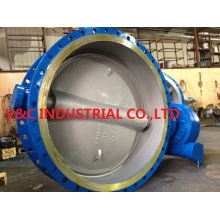 Flange Butterfly Valve with Big Size