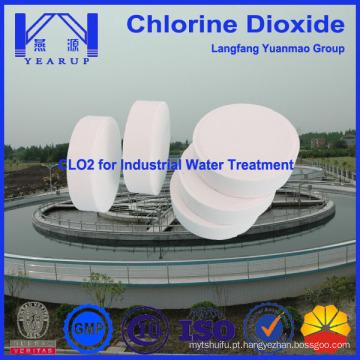 De tratamento de água de alta eficiência de tratamento de águas químicas nomeado dióxido de cloro da China Supplier