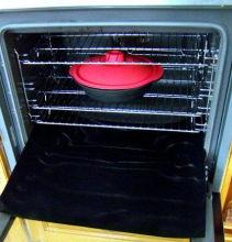 Revestimiento del horno antiadherente resistente, hecha de PTFE recubierto de tela de fibra de vidrio
