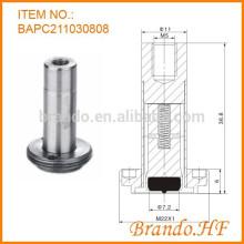 Actionneur de vanne solénoïde miniature à 2 voies normalement fermé à 2 voies pour système de fluide