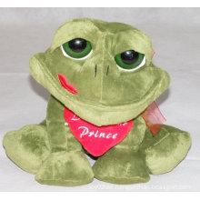 Frosch gefüllte Spielzeug mit Herz
