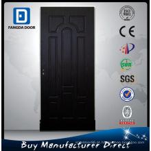 Porta de madeira da sala interior de Fangda MDF / PVC