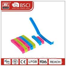 EN71-3 grampos de herméticos plástico para o alimento como presente da promoção