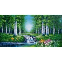 Arte da parede da pintura da paisagem da floresta da arte da parede (ETL-093)