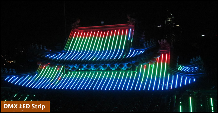 RGB Flexible Strip DMX512