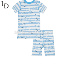 Features printing custom couples family pajamas