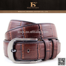 Long serve life high quality genuine leather belts for men