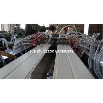 Double extrudeuse pour la machine de plafond de PVC