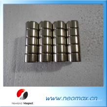 N42 aimant cylindre en néodyme