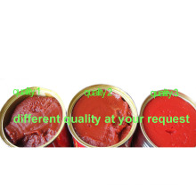 Halal Tomato Paste 70g 210g 400g 800g 850g 1kg 2.2kg 3kg 4.5kg with Good Price