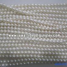 Perla de agua dulce AA grado 9.5-10mm
