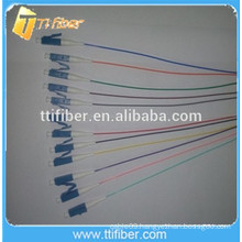 12 color Singlemode LC 12 core Fiber Optic Pigtail