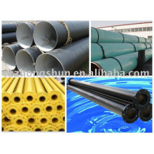 3PE steel pipe API ASTM PIPELINE MILL CHINA MADE