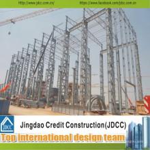 Installation facile Chine Structure en acier Worshop
