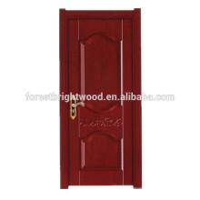 Einfache Art hölzerne Melamin-Innentür für Wohnzimmer-Tür