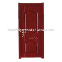 Simple Style Wooden Melamine Interior Door For Living Room Door