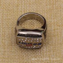 Fourniture d'anneau de tournoi en métal personnalisé en métal 3D pour collection