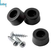 Thermoplastische Gummifüße mit Stahl / Metall-Stützbuchse