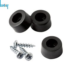Thermoplastic Rubber Feet with Steel/Metal Support Bushing