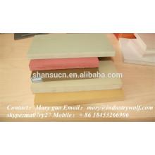hochwertige PVC extrudierte Schaumplatte / Plexiglas Platten / Materialien bei der Herstellung von Pantoffeln / Polycarbonatplatten