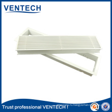 High quality Aluminum Linear Air Grille with Removable Core Linear Register