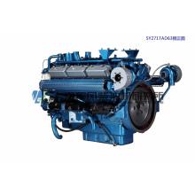 CUMMINS, 12 цилиндров, 308 кВт, Шанхайский дизельный двигатель для генераторной установки,