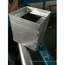 Système de ventilation galvanisé Fabricant de rouleaux pour Russie
