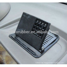 3D adjustable mobile phone position non slip car pad