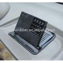 Posição de telefone móvel ajustável 3D almofada de carro antiderrapante