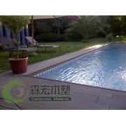 Professional Manufacturer Waterproof Swimming Pool WPC Floor