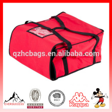 Wholesale Custom Food Delivery Bag Thermal Pizza Delivery Bag