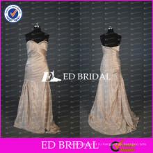 ЭД элегантный милая свадебные платья Русалка бисером ruched шифон длинные мать невесты платье 2017