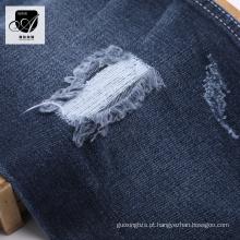 Moda Têxtil Algodão Estoque Jean Tecido de Camisa Jeans