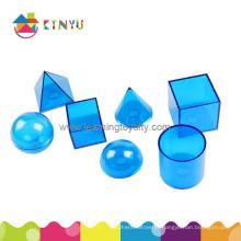 Plástico geossólidos relacional / geometria formas brinquedo (k027)
