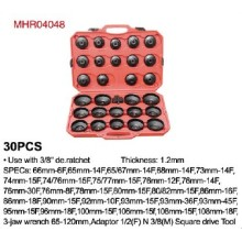 30PCS Cap Type Oil Filter Wrench Set (MHR04048)