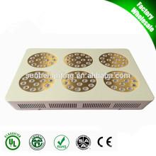 ETL UL CUL DLC impermeável Dimmable LED Grow Light Dois Canais Grow para estufa LED Grow Iluminação