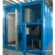 Insulated Pressurized Lab Module Container House A60 Zone2