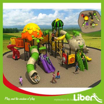 Neue Kunststoff Outdoor Spielplatz Ausrüstung in Park Preschool LE.SG.011 verwendet