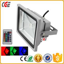 Diodo emissor de luz exterior Fluter da luz de inundação 36W 18W do diodo emissor de luz da luz do ponto do diodo emissor de luz do RGB com Epistar ou Bridgelux