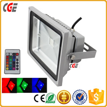 RGB светодиодный прожектор Открытый светодиодный свет потока 36W 18W СИД Fluter с epistar или bridgelux