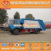 DONGFENG 4x2 12 M3 camion à chargement arrière avec mécanisme de pressage moteur diesel 190 CV