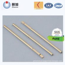 Haste de metal do ajuste da altura da fábrica do ISO com aprovaçã0 da qualidade do nível 3 do Ppap