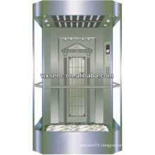 Laminated safety glass panoramic elevator lift in China